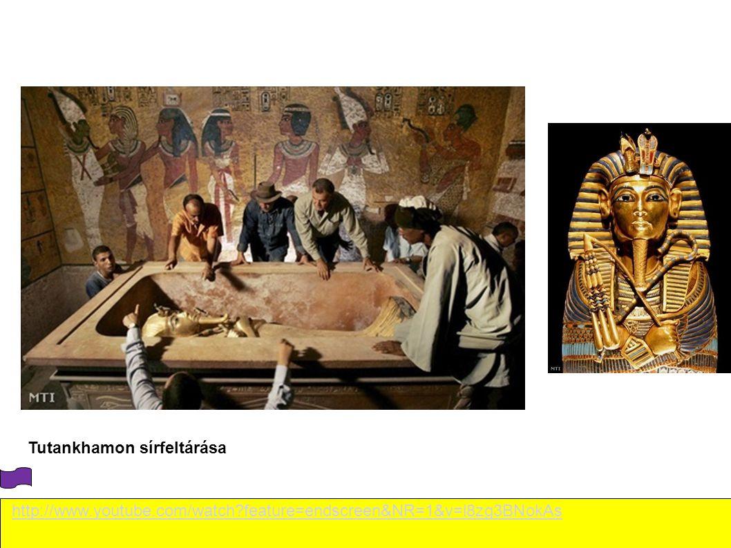 http://www.youtube.com/watch?feature=endscreen&NR=1&v=l8zg3BNokAs Tutankhamon sírfeltárása