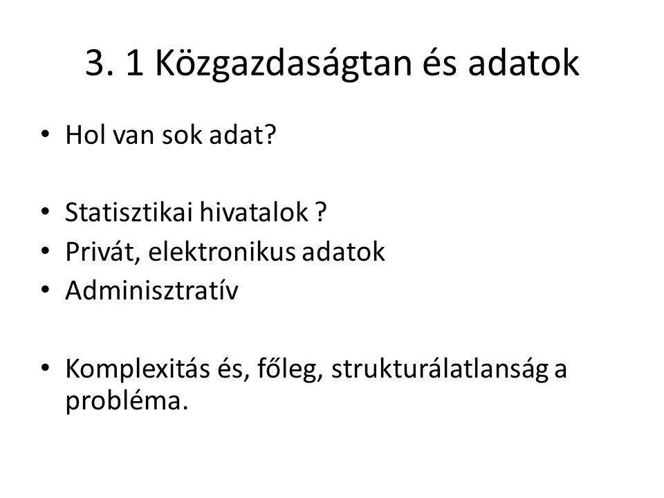 7.2 Hol kellene szemléletet változtatni.Adatstrukturálás adatbányászattal.