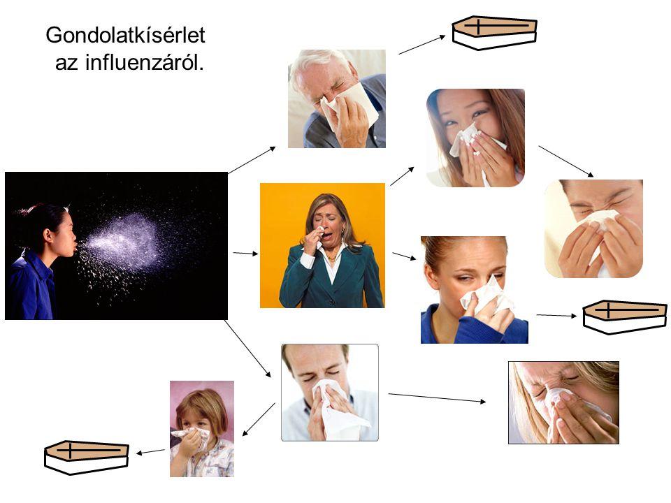 Gondolatkísérlet az influenzáról.
