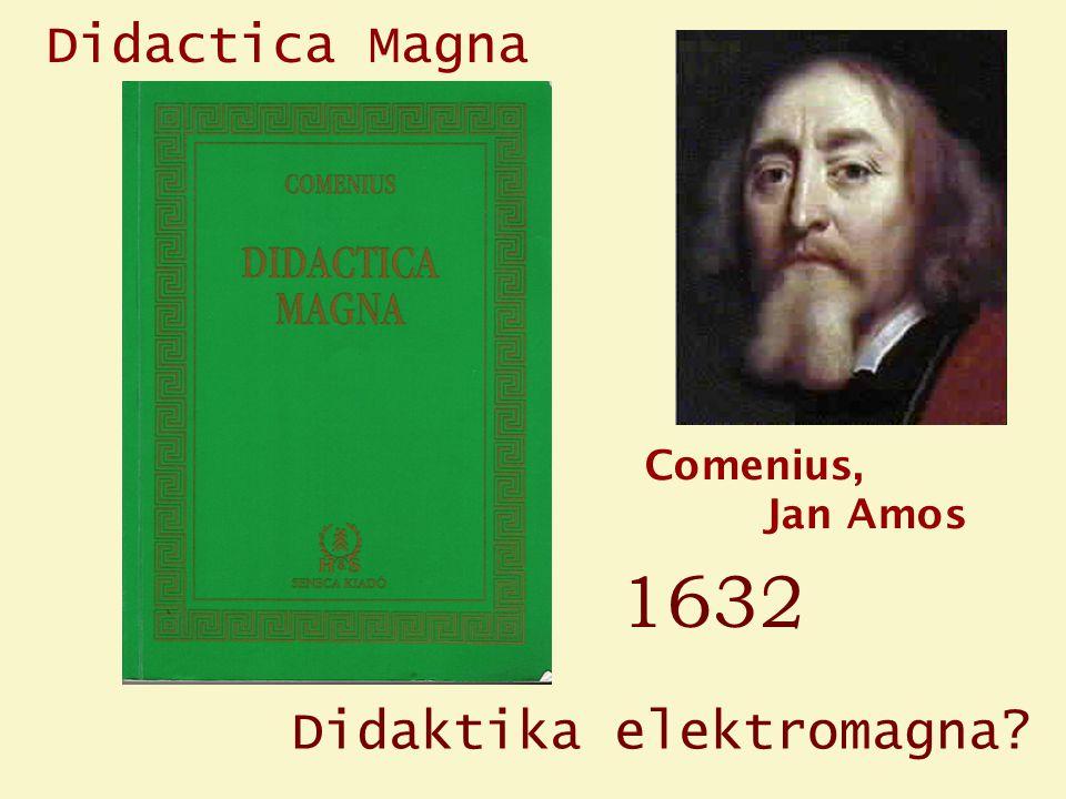 Comenius, Jan Amos Didactica Magna Didaktika elektromagna 1632