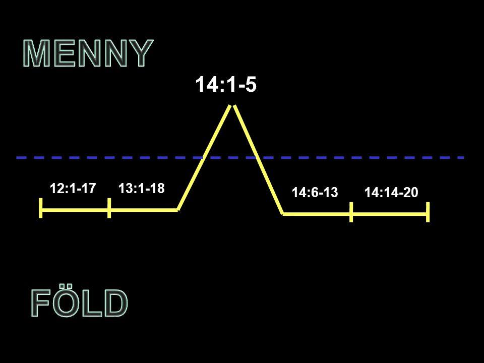 12:1-1713:1-18 14:6-1314:14-20 14:1-5
