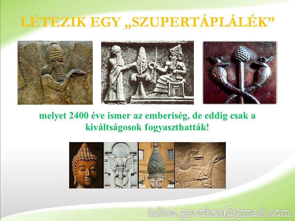 """LÉTEZIK EGY """"SZUPERTÁPLÁLÉK"""" melyet 2400 éve ismer az emberiség, de eddig csak a kiváltságosok fogyaszthatták!"""