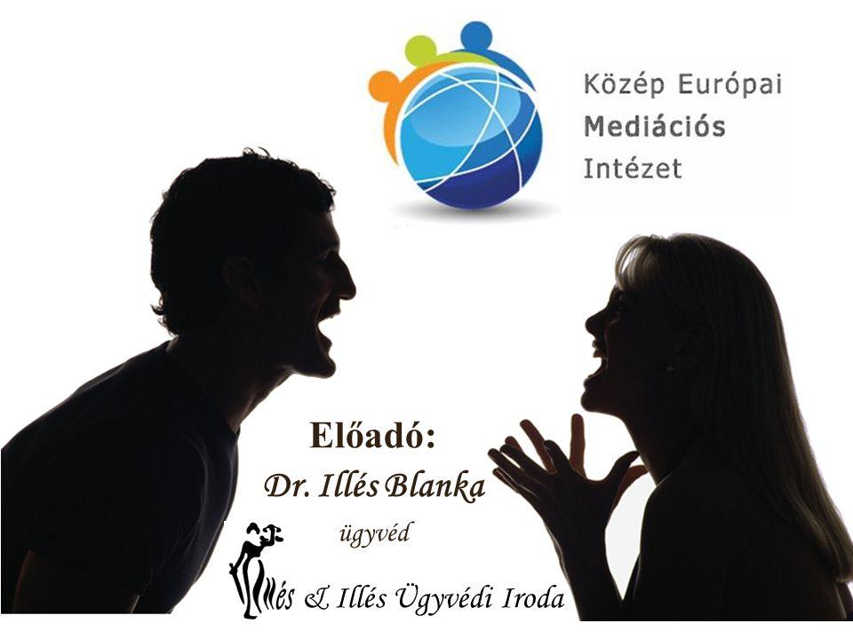 Előadó: Dr. Illés Blanka ügyvéd & Illés Ügyvédi Iroda
