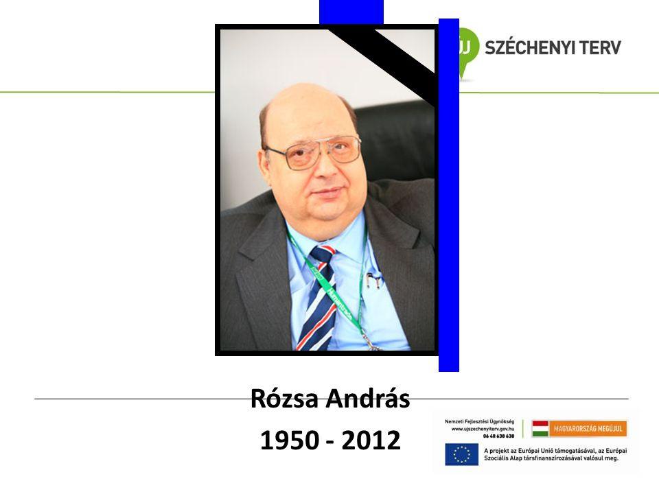 Rózsa András 1950 - 2012