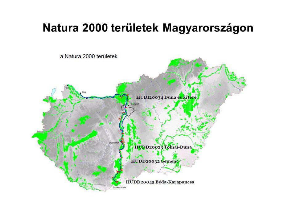 Natura 2000 területek Magyarországon