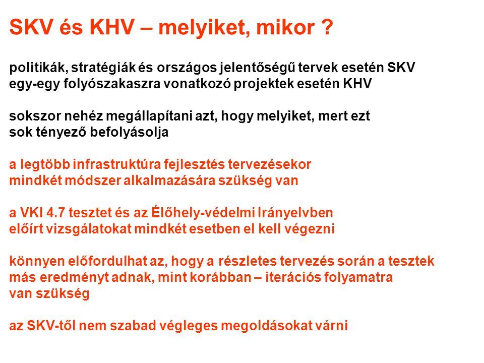 SKV és KHV – melyiket, mikor .