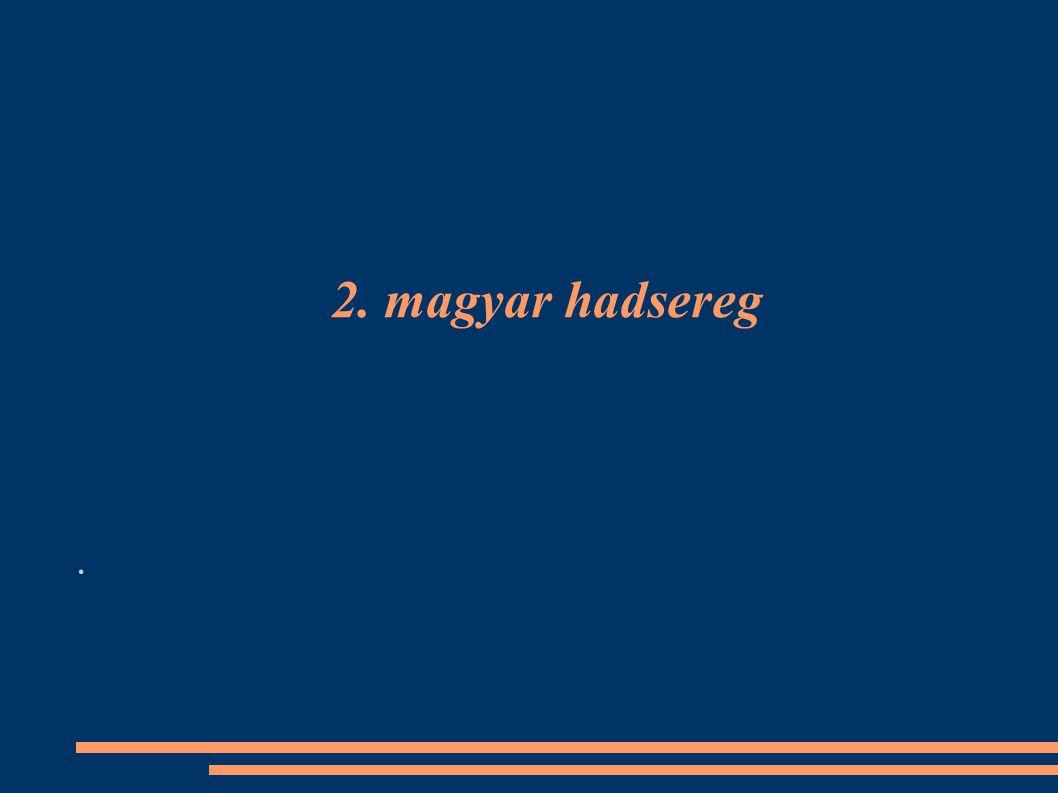 2. magyar hadsereg.