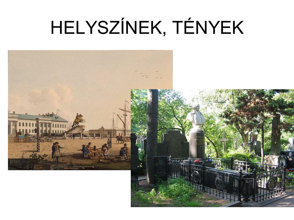 HELYSZÍNEK, TÉNYEK