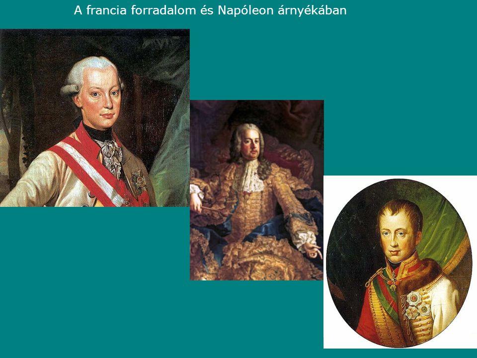 A francia forradalom és Napóleon árnyékában
