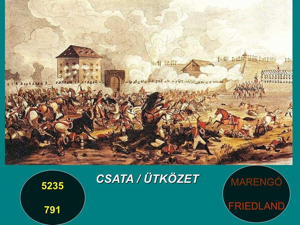 CSATA / ÜTKÖZET 5235791 MARENGÓ FRIEDLAND