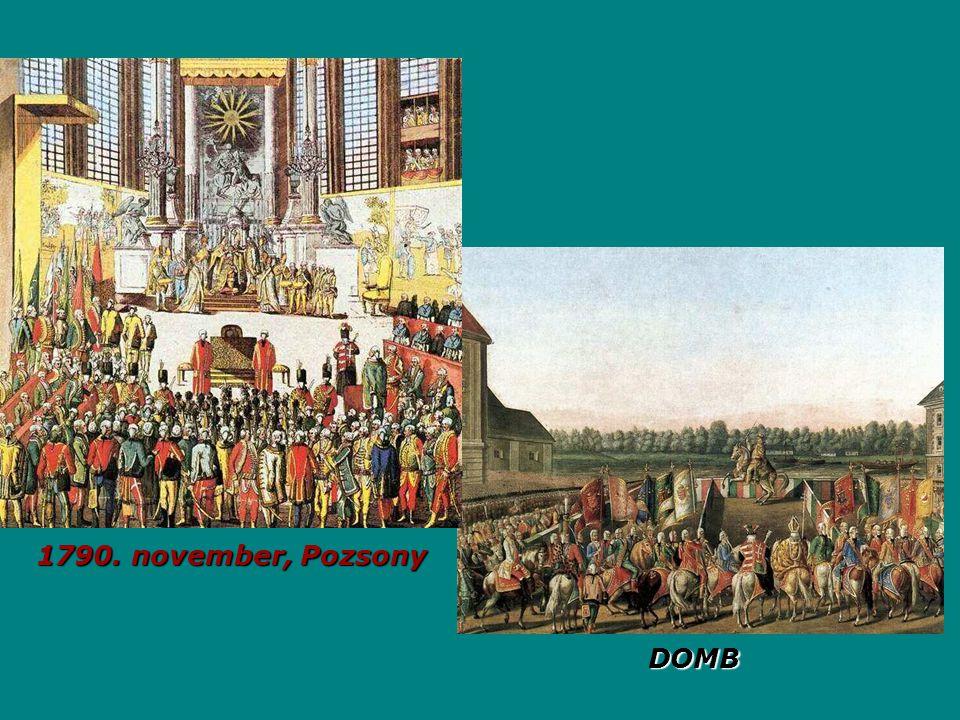 1790. november, Pozsony DOMB