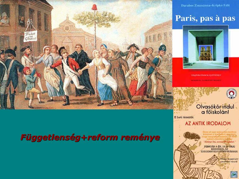Függetlenség+reform reménye