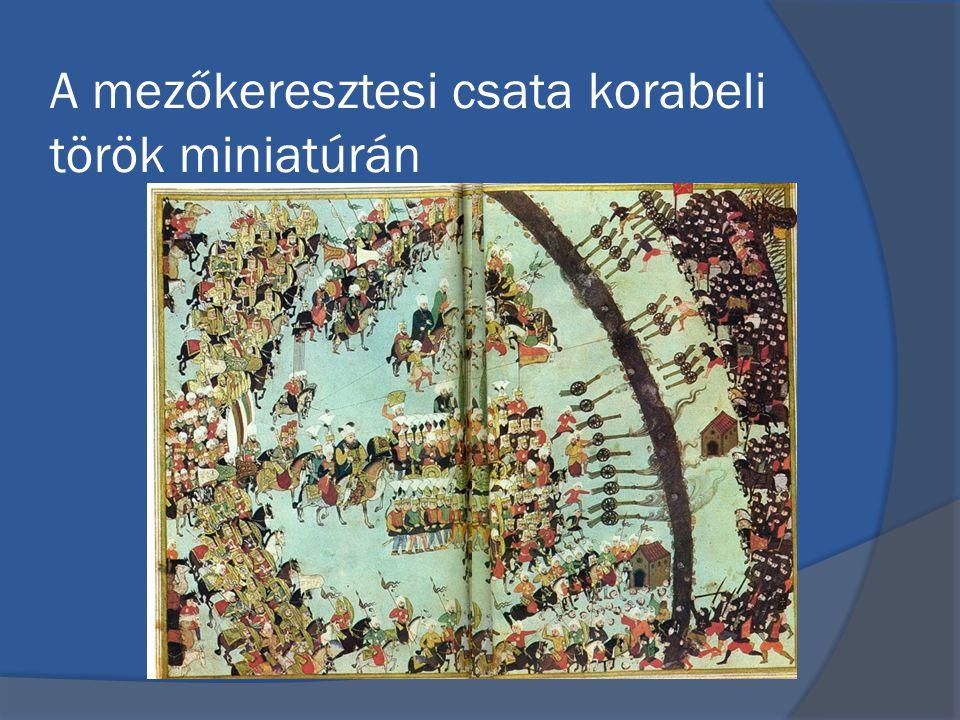 A mezőkeresztesi csata korabeli török miniatúrán