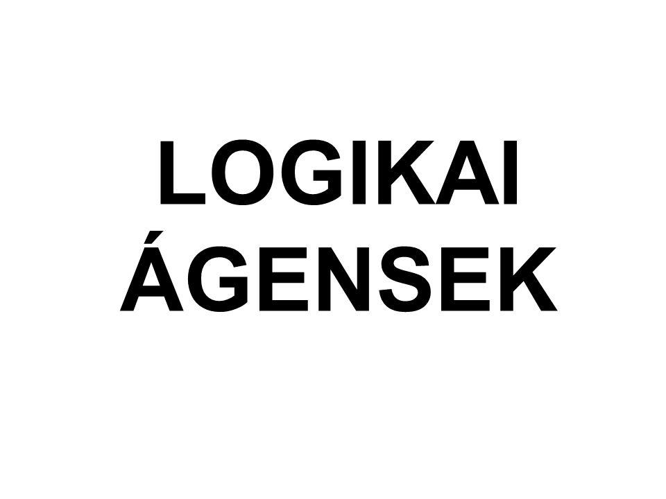 LOGIKAI ÁGENSEK