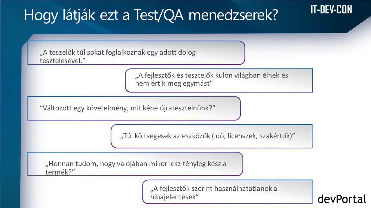 IT-DEV-CON Hogy látják ezt a Test/QA menedzserek