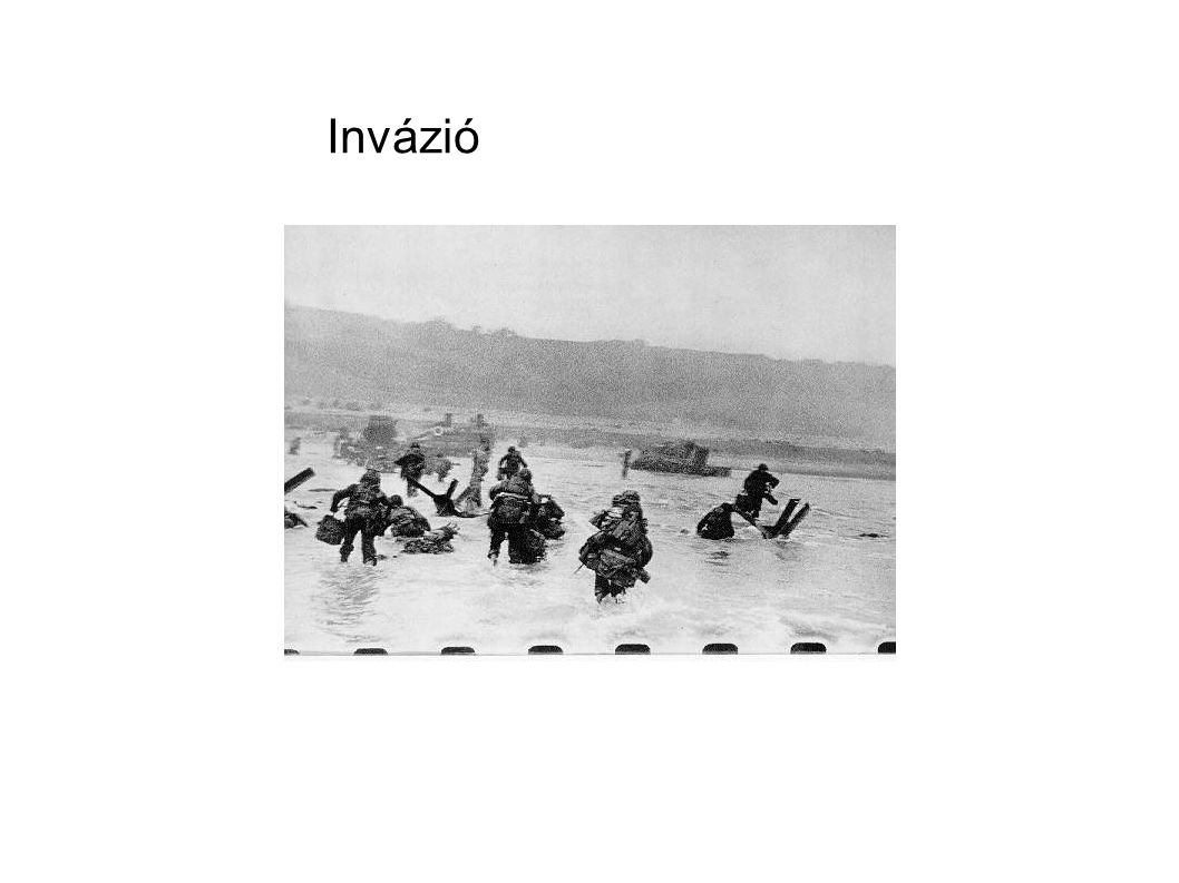 A náci Németország előretörése A szövetségesek felülkerekedése A szövetségesek győzelme A második világháború előzményei