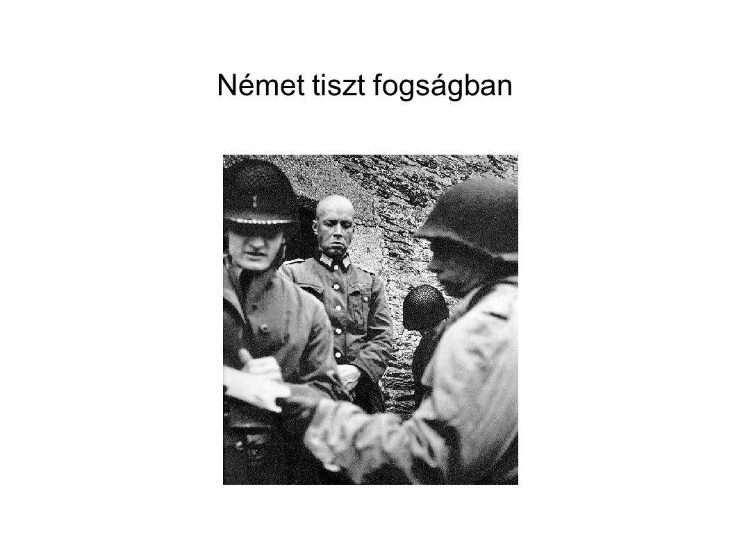 Német tiszt fogságban