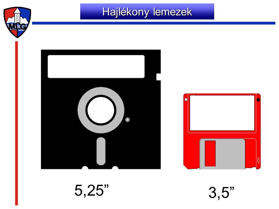 """Hajlékony lemezek 5,25"""" 3,5"""""""