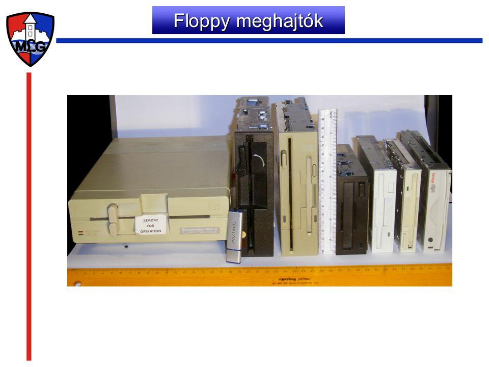 Floppy meghajtók