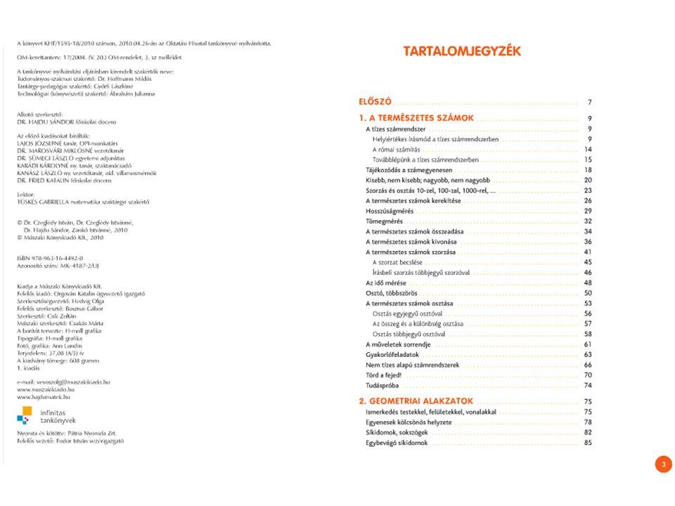 Hozzáférés a digitális könyvhöz HOTSPOT: Kiadói animációk, megoldások Interaktív táblás internet nélkül is működő anyagok Interaktív játékok, gyakorlófeladatok weben található linkjei, leírások