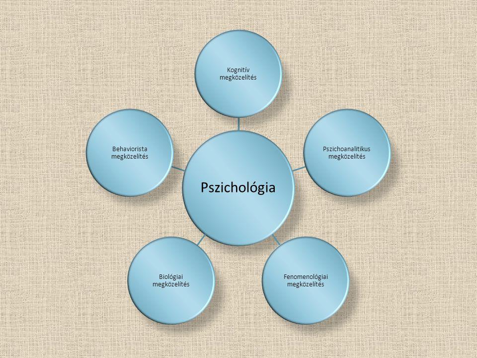  A viselkedést a testen belül, az agyban és az idegrendszerben zajló elektromos és vegyi eseményekhez kapcsolja.