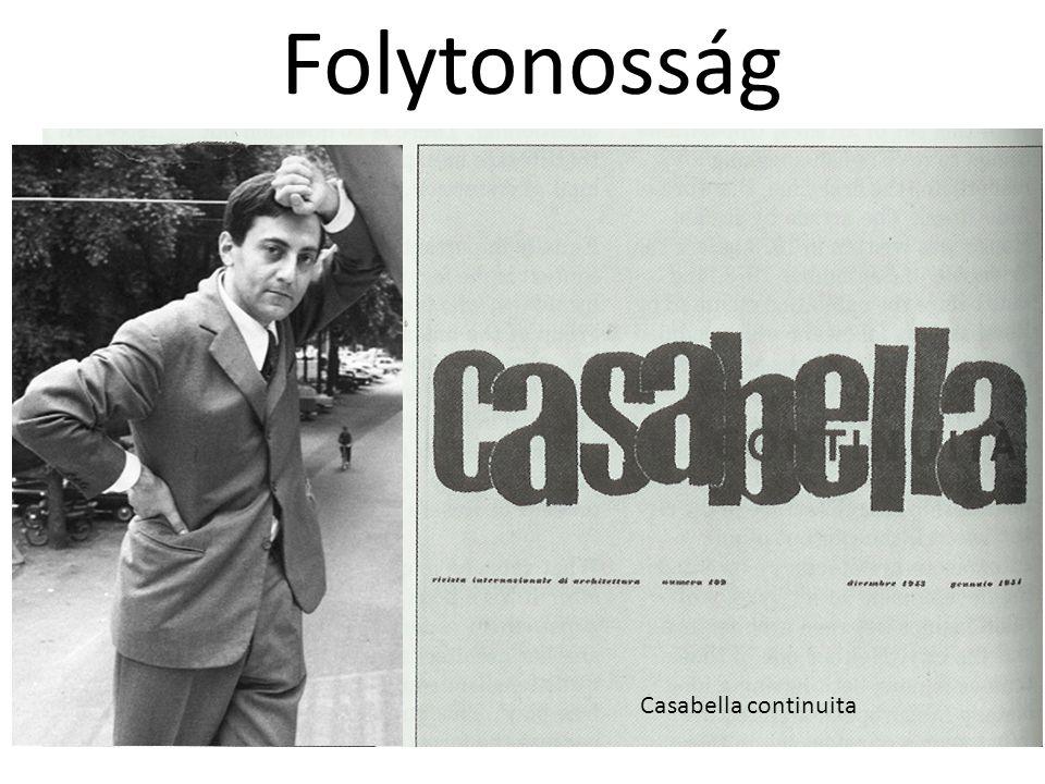 Folytonosság Casabella continuita