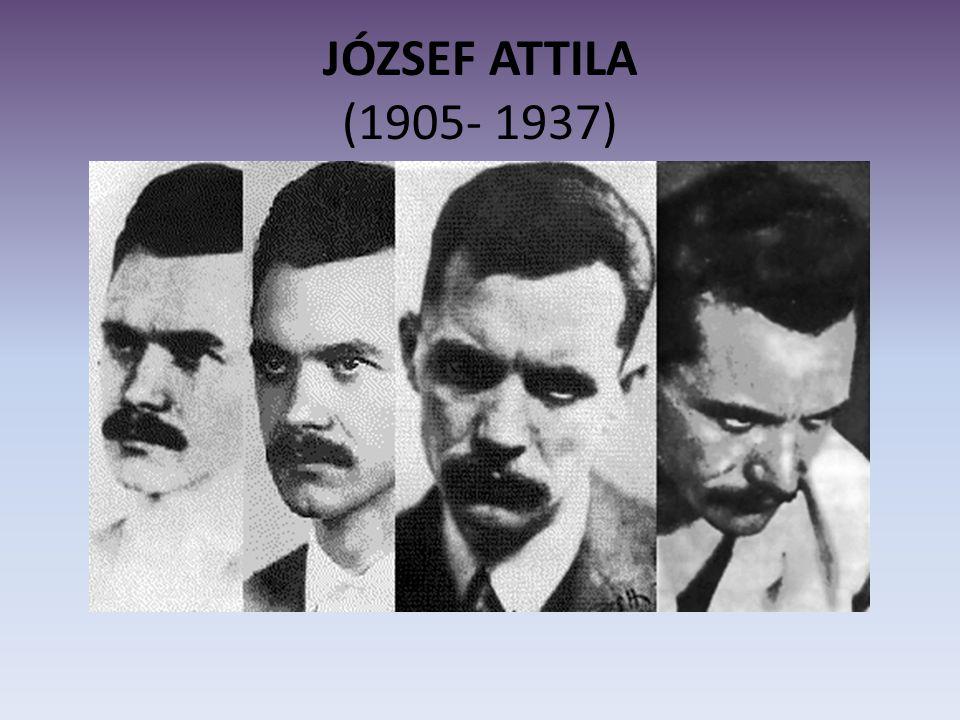 JÓZSEF ATTILA (1905- 1937)