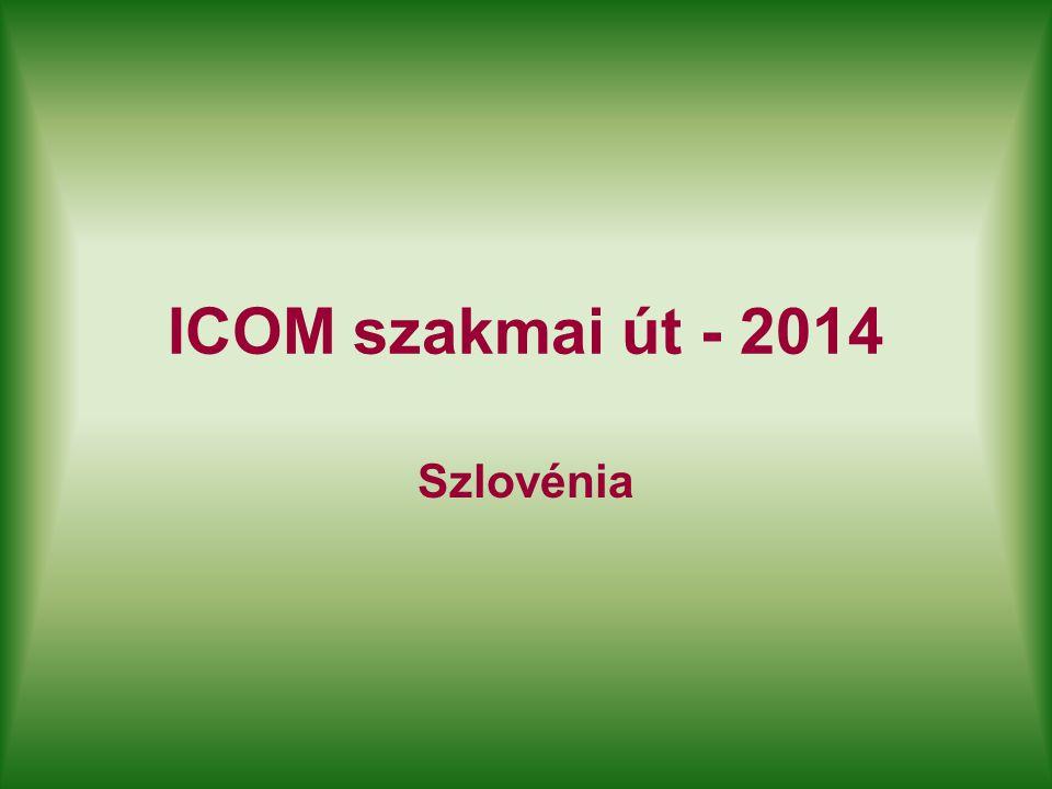 ICOM szakmai út - 2014 Szlovénia