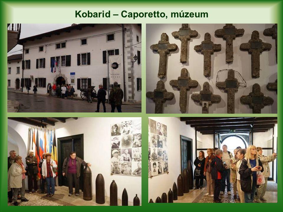 Kobarid – Caporetto, múzeum