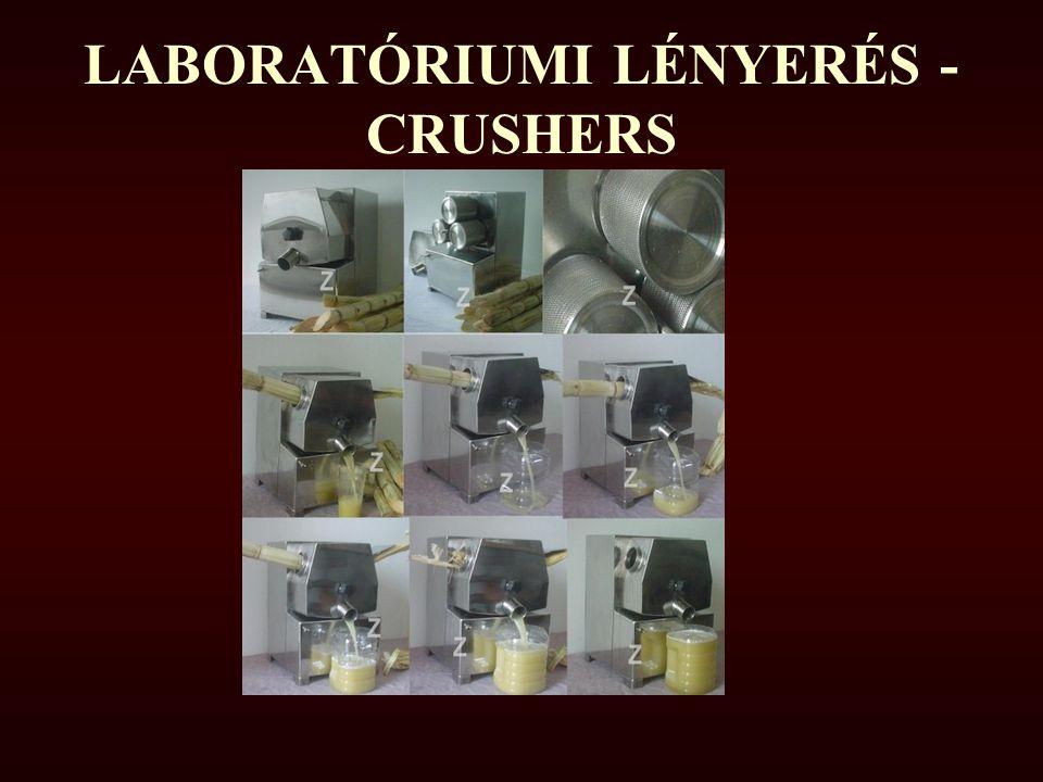 LABORATÓRIUMI LÉNYERÉS - CRUSHERS
