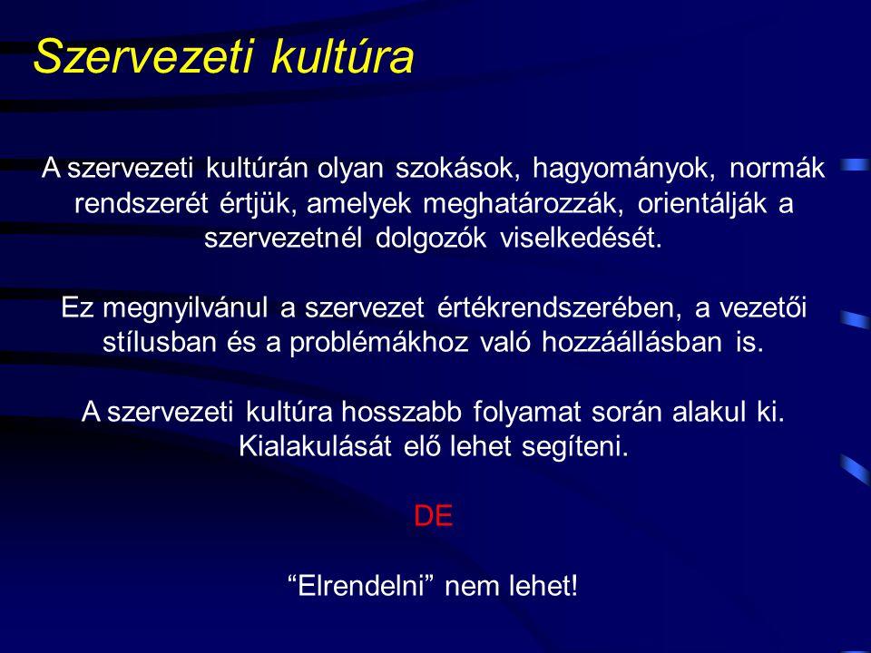Miről lesz szó? Szervezeti kultúra és teljesítményértékelés Teljesítményértékelés és menedzsment A teljesítmény Teljesítményértékelő rendszerek Danubi