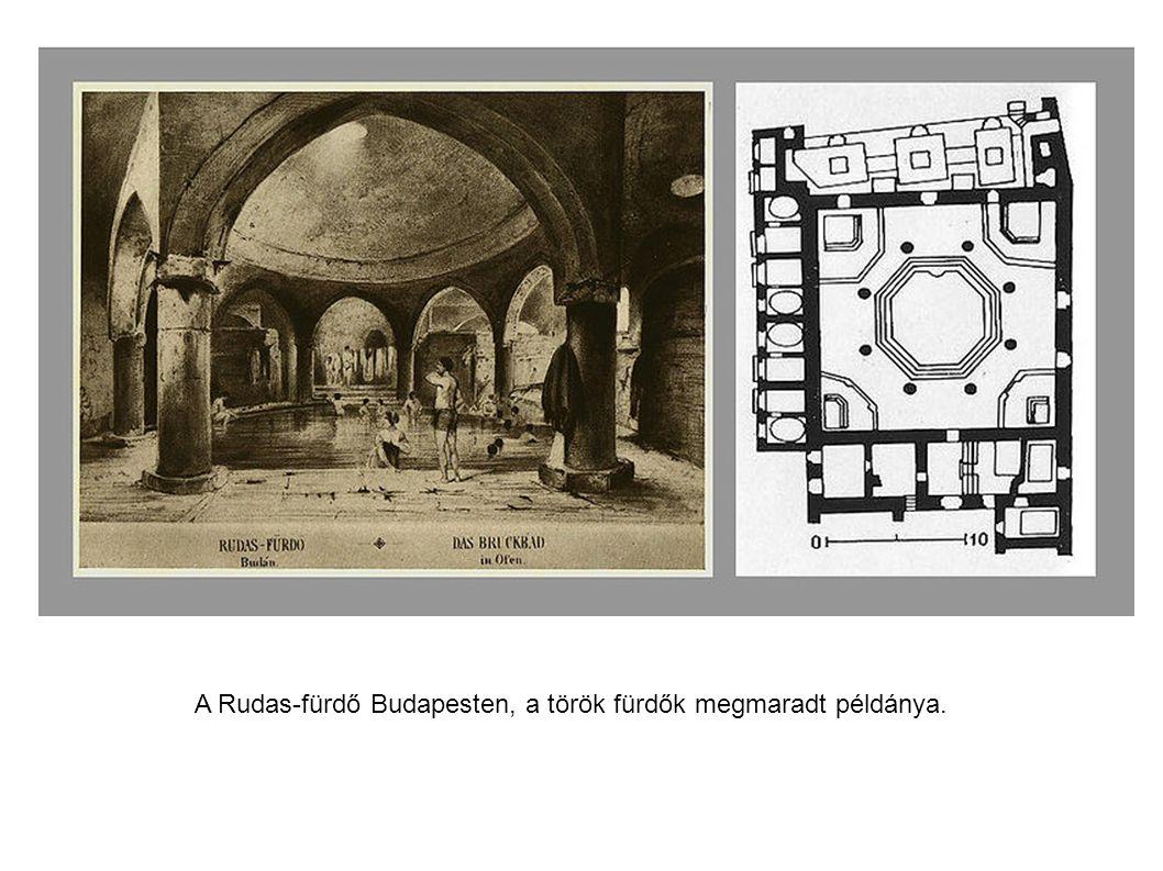 A Rudas-fürdő Budapesten, a török fürdők megmaradt példánya.
