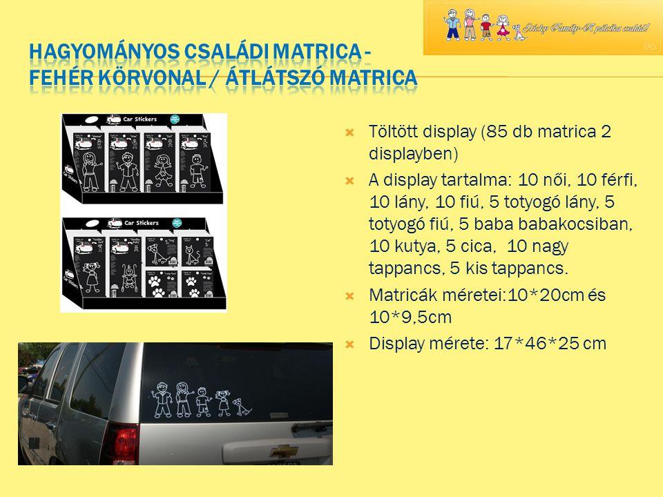 Látogass el weboldalunkra: www.matricacsalad.lapunk.hu stickyfamily.matrica@gmail.com