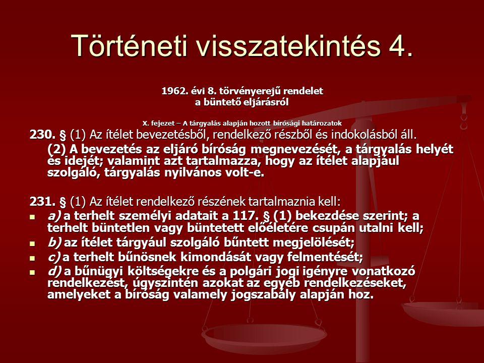 Iratminták – végzés bevezető része Fővárosi Törvényszék 4.