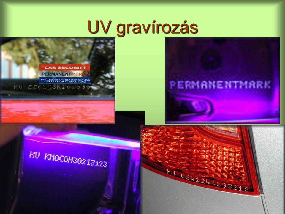 UV gravírozás