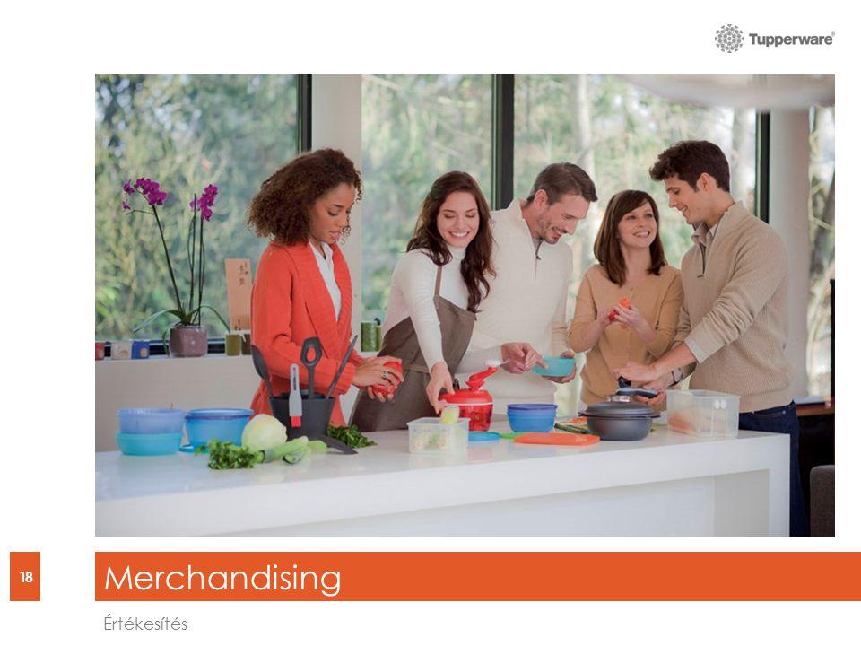 Merchandising 18 Értékesítés