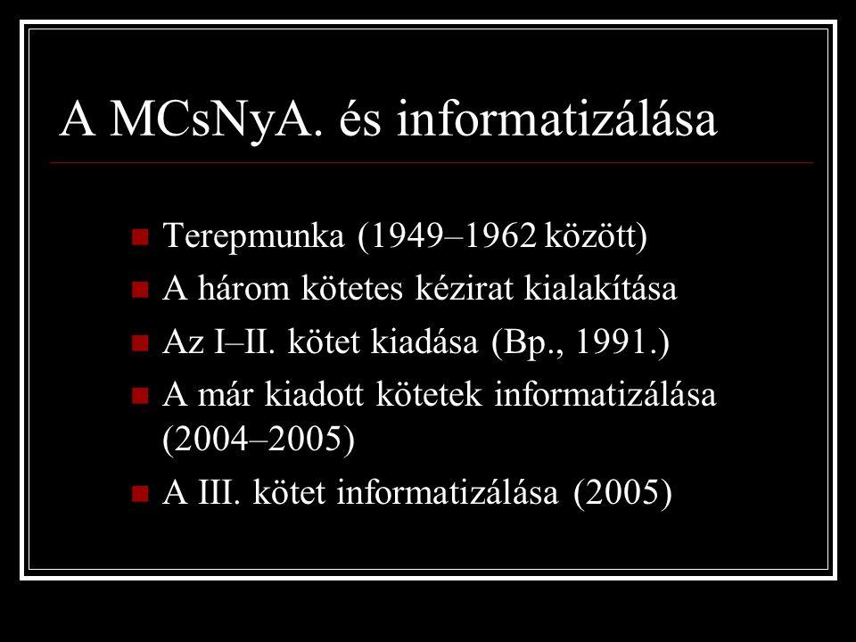 A MCsNyA.