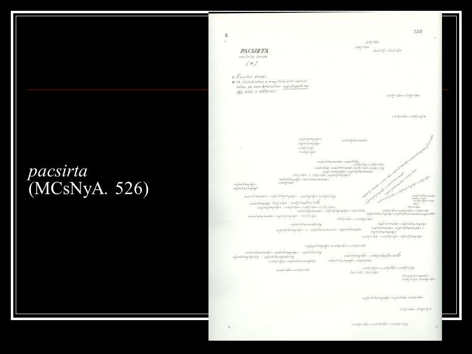 pacsirta (MCsNyA. 526)