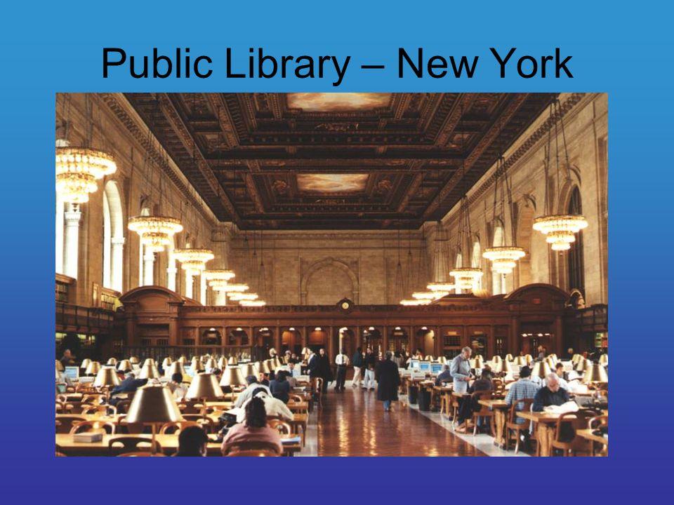 Public Library – New York