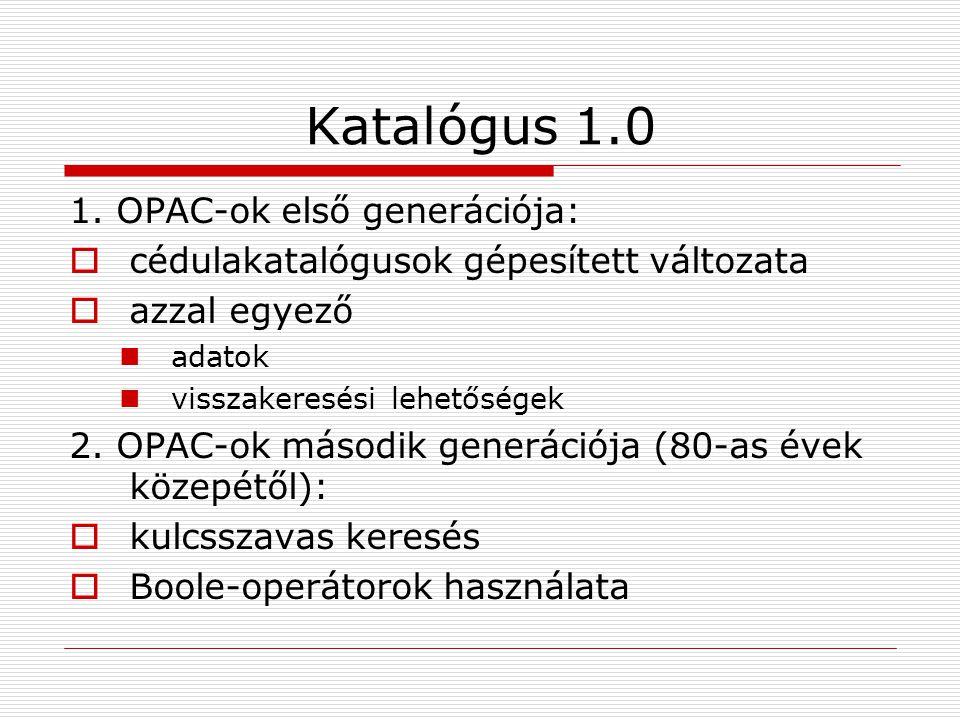 Katalógus 1.0 1.