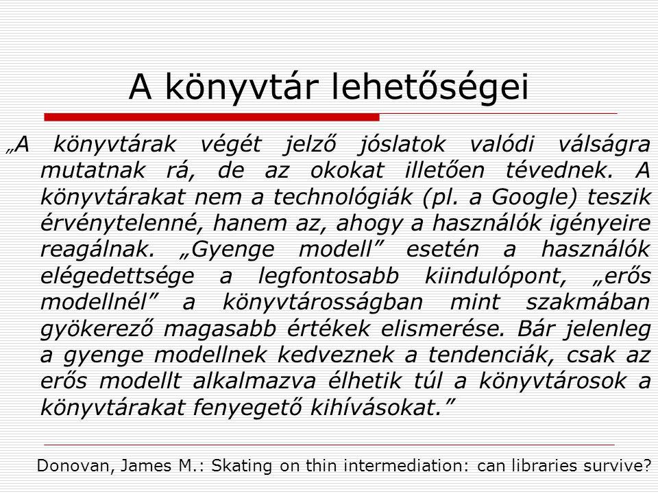 """A könyvtár lehetőségei """" A könyvtárak végét jelző jóslatok valódi válságra mutatnak rá, de az okokat illetően tévednek."""