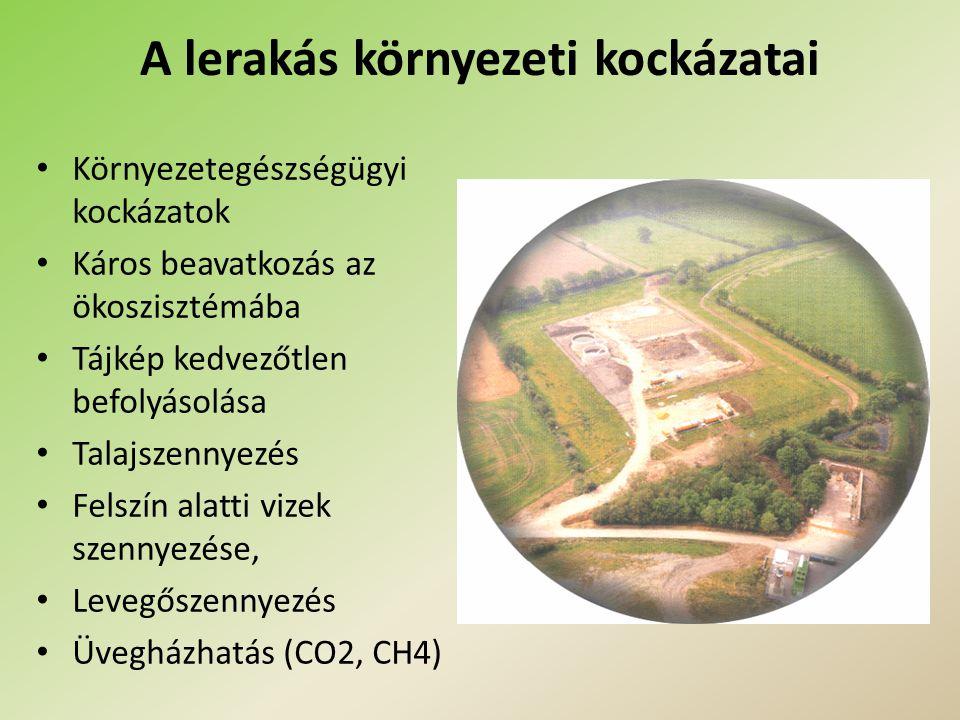 Követelmények (1) Helykiválasztás: a lerakó megfelelő geológiai adottságit biztosítja; kizárja a vizes élőhelyeket, ártereket, stb.