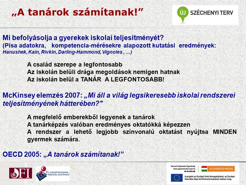 Oktatási rendszerek fejlesztési területei ( 2.