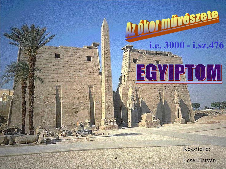 Ecseri ÓKORIKULTÚRÁKÓKORIKULTÚRÁK Részlet Tutanchamon trónjáról