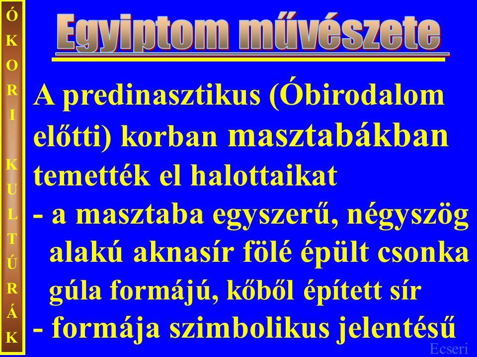 Ecseri ÓKORIKULTÚRÁKÓKORIKULTÚRÁK