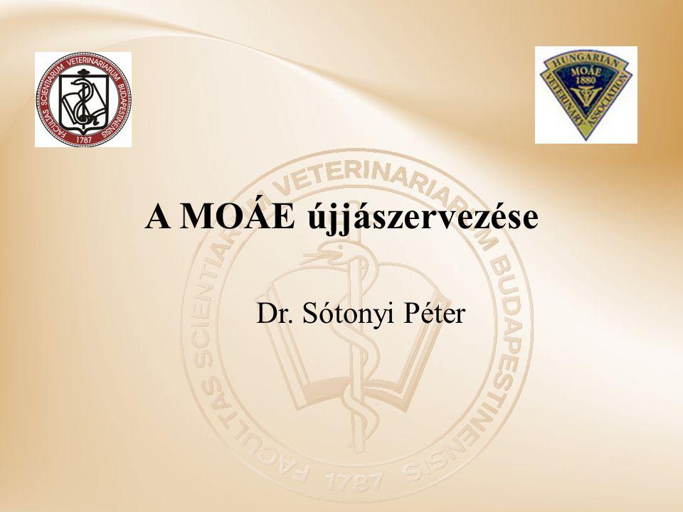 Az állatorvosi hagyományok, értékek őrzése Új erkölcsi közösség kialakítása, melynek alapja az egy tő, a közös diploma, a közös szemléletmód az Alma Mater ami mindnyájunkat egybe köt