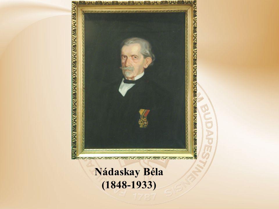 Nádaskay Béla (1848-1933)