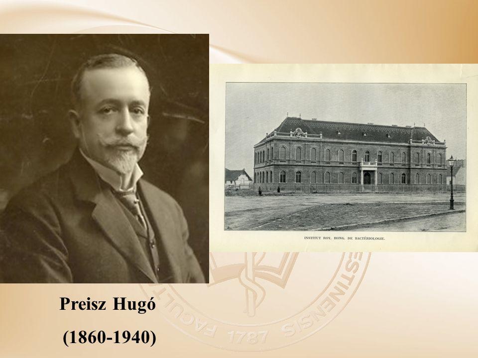 Preisz Hugó (1860-1940)