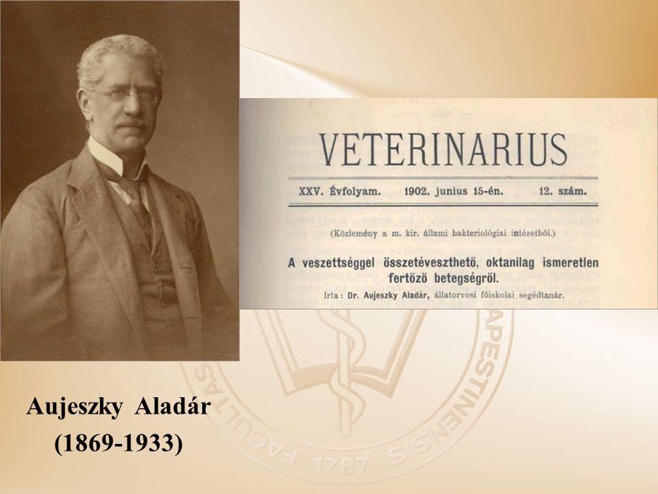 Aujeszky Aladár (1869-1933)