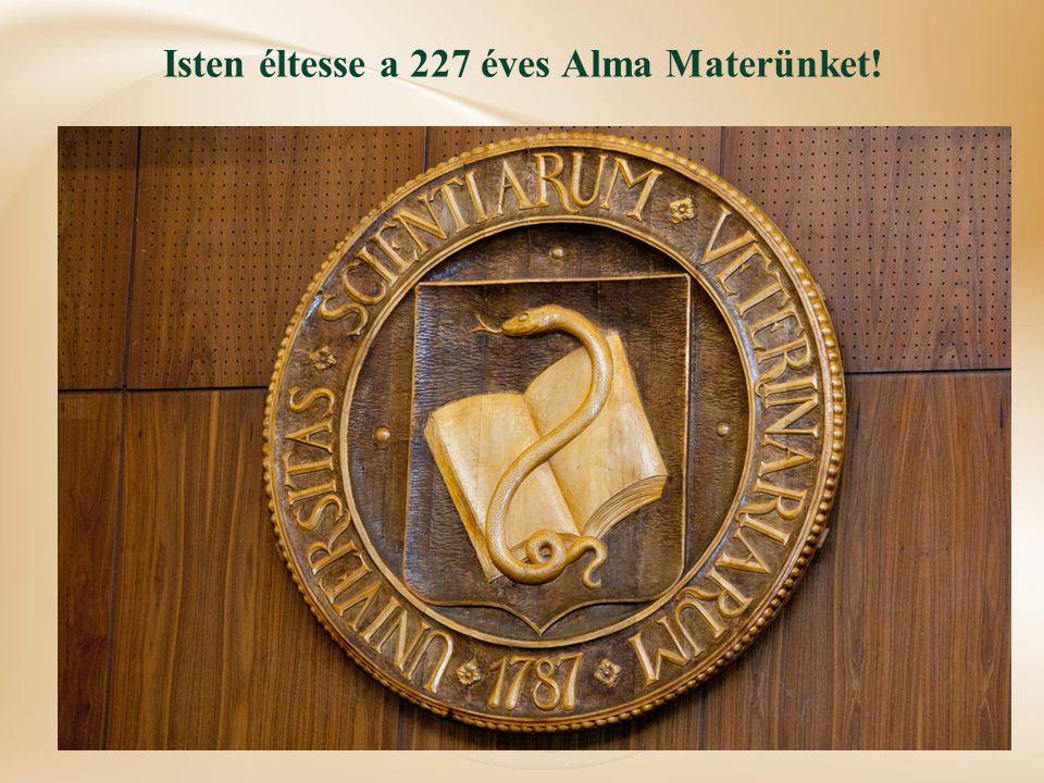 Isten éltesse a 227 éves Alma Materünket!